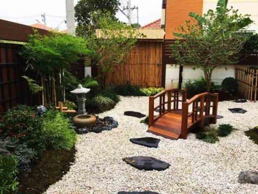 Phong cách thiết kế sân vườn Nhật Bản